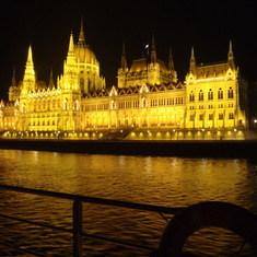 Budapest illuminated – as seen from AmaDolce