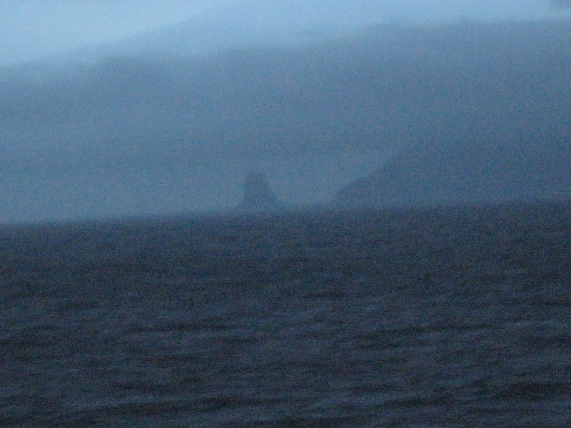 Cape Saint Elias! At midnight from our balcony. Vitus Bering landed near here.   - Seven Seas Navigator