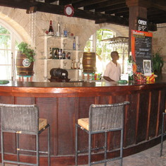 Bar at FourSquare Rum distillery Barbados