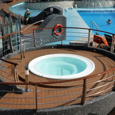 Hot Tub on Ship