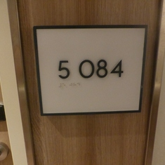 stateroom number