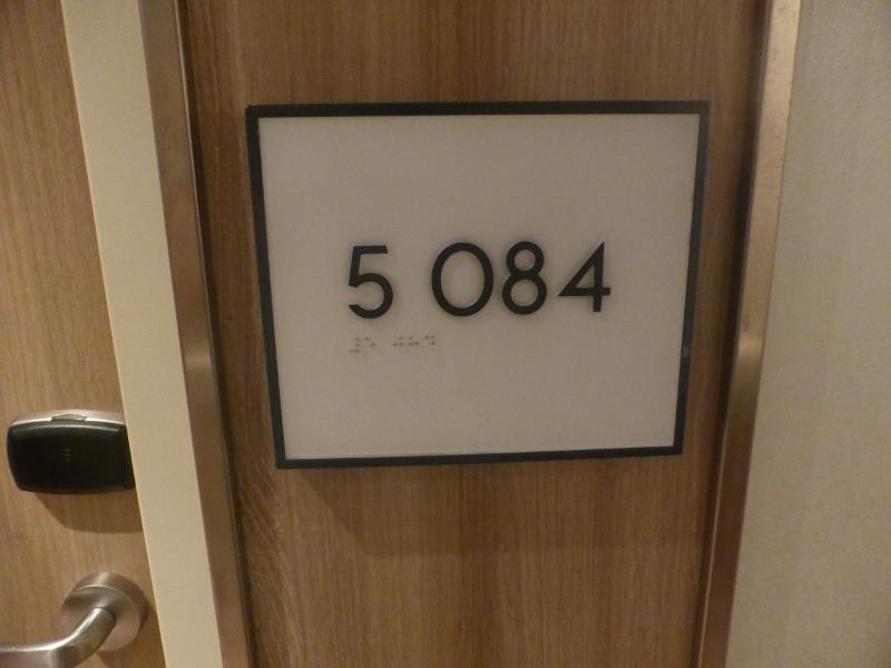 stateroom number - Koningsdam