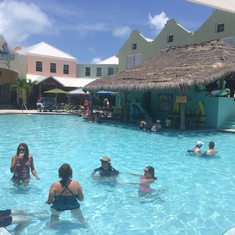Margaritaville Cafe Pool Bar on Grand Turk