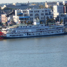 Riverboat in NOLA