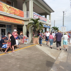 Shopping in Georgetown, Caymen Islands