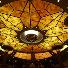Celebrity Constellation - ceiling in Main Dining Room