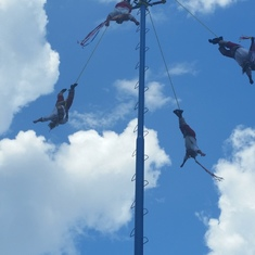 More from the performance... They were High up there!