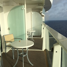 Superior Oceanview Balcony