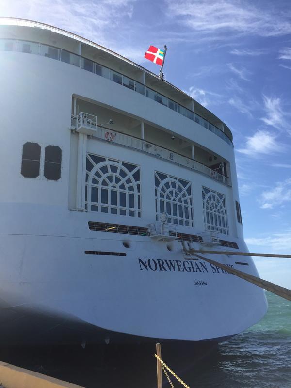 View of Aft - Norwegian Spirit