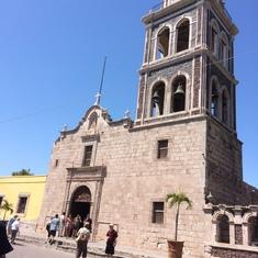 The Church in Loreto.