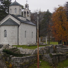 The old capital of Montenegro
