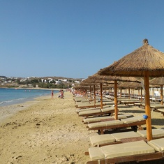 Kalafati beach, Mykonos, Greece