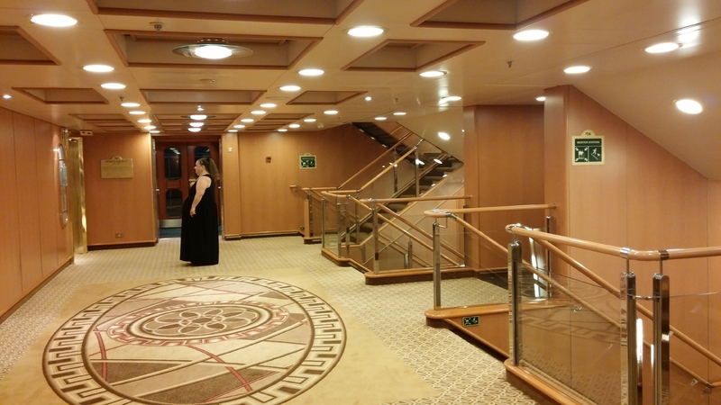 Going to formal night dinner - Caribbean Princess
