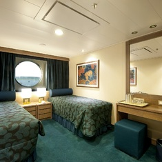 Oceanview Stateroom on MSC Magnifica