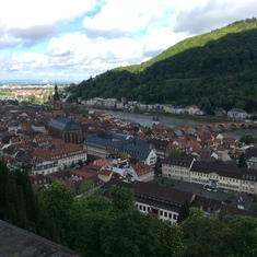 From the Heidelburg Castle