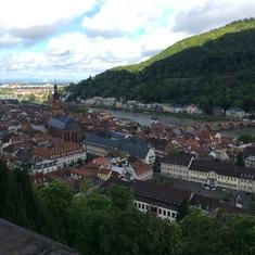 From the Heidelburg Castle