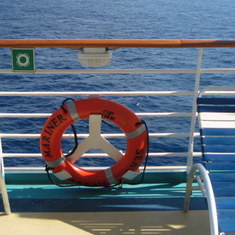 Cozumel, Mexico - On board the Mariner of the Seas