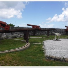 Fort Fincastle.  Nassau.