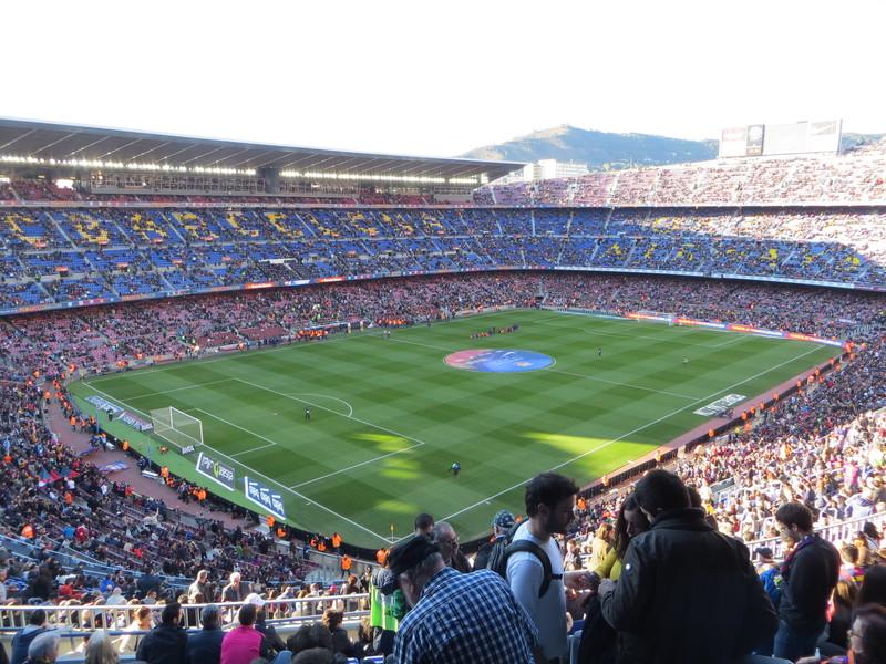 Barcelona, Spain - Barcelona vs Grenada