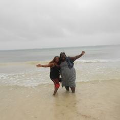 Falmouth, Jamaica - Teresa and Jen