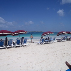 beach at St Maarten