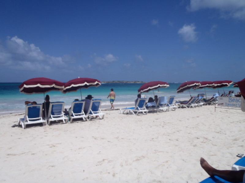 beach at St Maarten - Oasis of the Seas