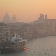 Fog over Venice Sunrise