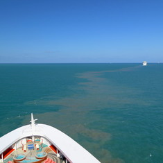Port Canaveral, Florida - Heading out of Port Canaveral