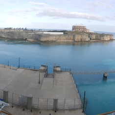 Royal Naval Dockyard, West End, Bermuda - Picture from the balcony the 1st day in Bermuda.