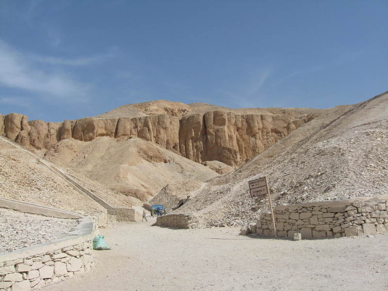 Valley of the Kings.  Egypt - Prinsendam