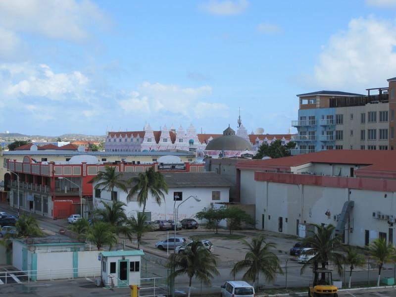 Oranjestad, Aruba - Aruba from the dock