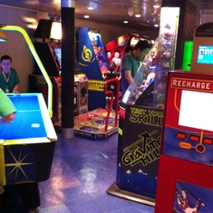 Radiance of the Seas Arcade