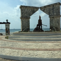 monument on Cozumel
