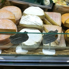 Cheese at the market in Aix