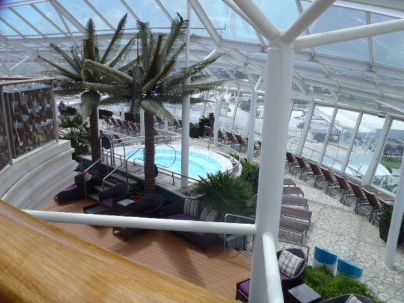 Solarium - Oasis of the Seas
