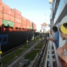 cruise on Coral Princess to Panama Canal, Central America