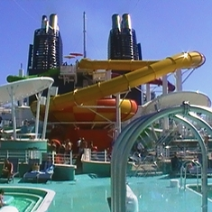 The Aqua Park on-board!