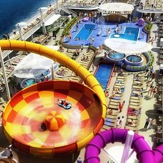 cruise on Norwegian Epic to Caribbean