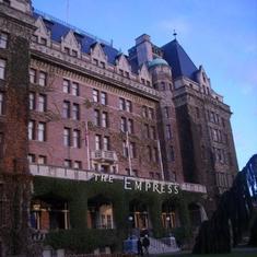 Fairmont Emperess Hotel, Victoria, BC CANADA