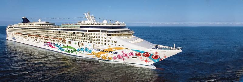 Our ship, the Norwegian Pearl - Radiance of the Seas