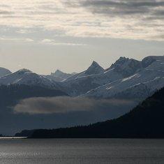 Approaching Juneau, Alaska.