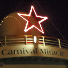 cruise on Carnival Miracle to Caribbean