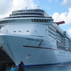 "The ""Fun Ship""  Carnival Miracle"
