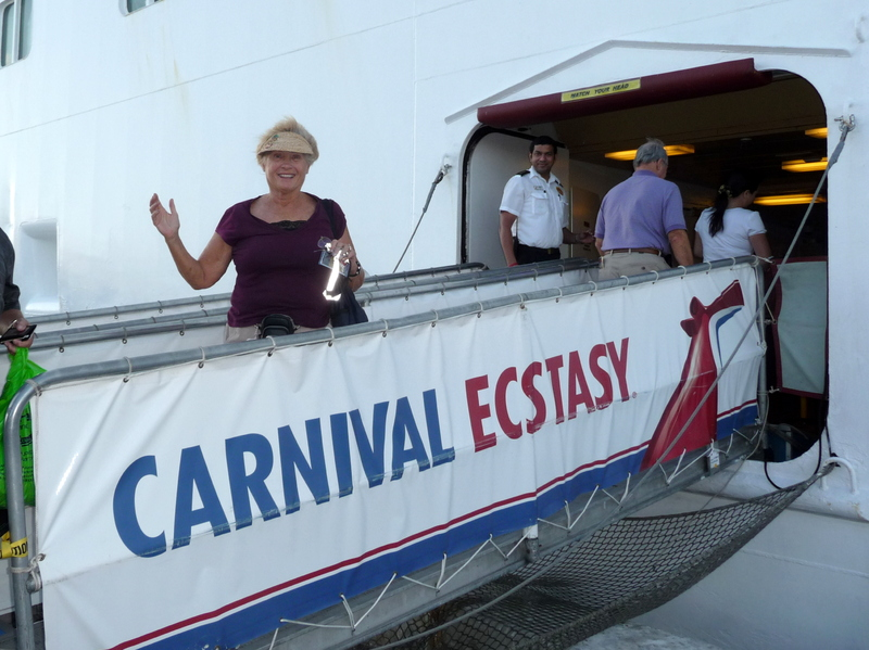 cruise on Carnival Ecstasy to Caribbean - Bahamas - Carnival Ecstasy