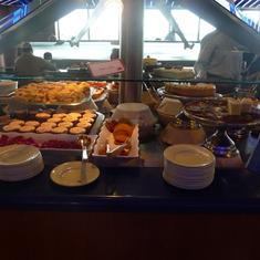Dessert Bar. Lido Buffet
