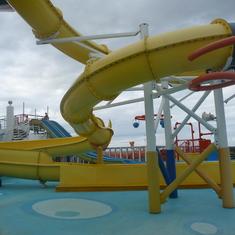 Twister Water Slide