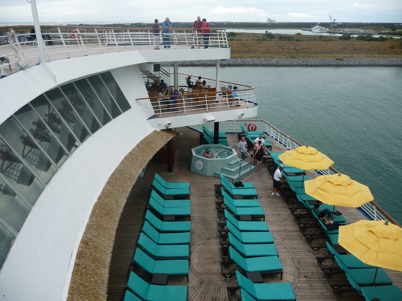 Photo Of Carnival Ecstasy Cruise On Serenity Deck