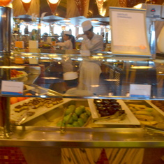 The Gathering Buffet on Lido Deck