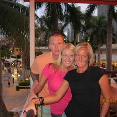 Sandy, Danielle, and I