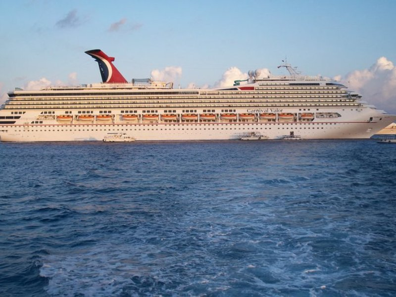Carnival Valor, Carnival Cruise Lines - March 24, 2012